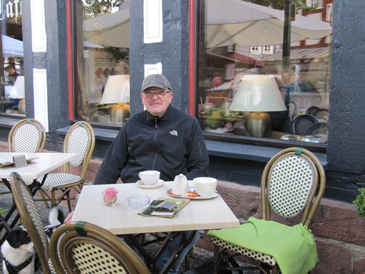 Leckerer Cafe und Kuchen im Rathaus-Cafe