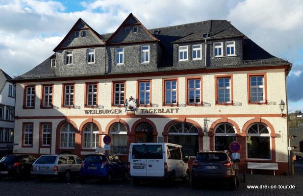 Bauwerk von 1770, heutige Nutzung Zeitungsverlag