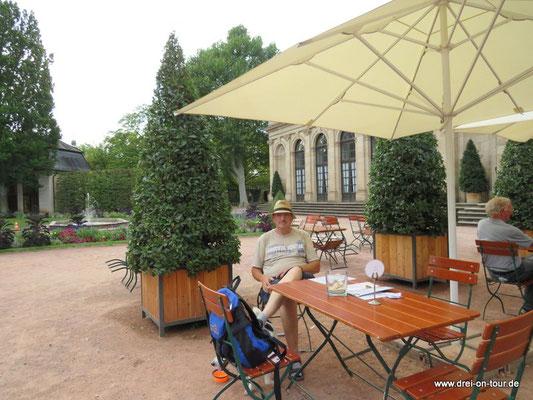 Cafe in der Orangerie