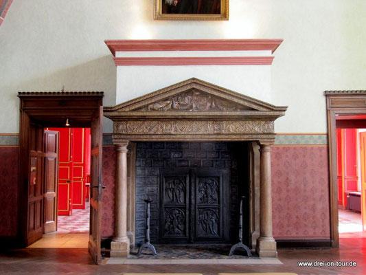 Werkmeisterküche, erinnert an die Aachener Tuchmachertradion