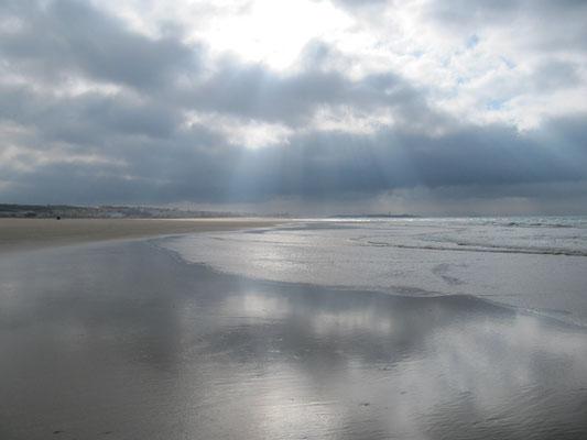 Strand bei Ebbe