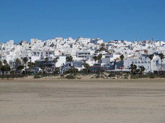 Ortsansicht vom Strand aus