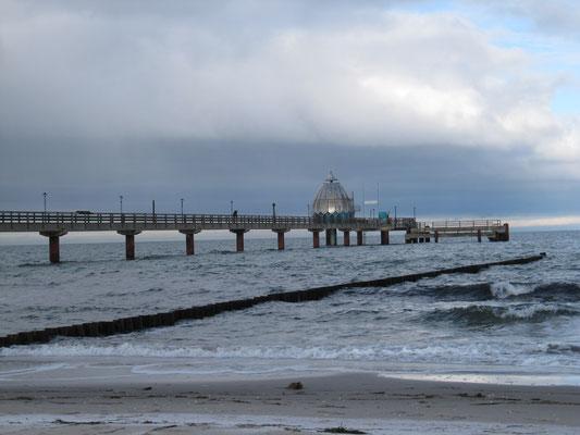 Seebrücke von 1993 - 270 m lang