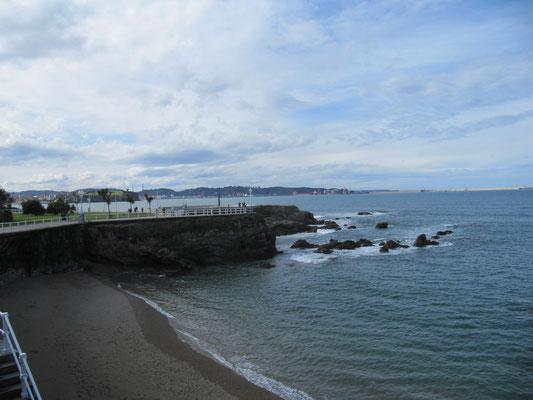 Promenade in Gijon