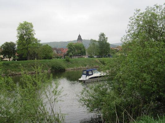 Blick auf den Fluß