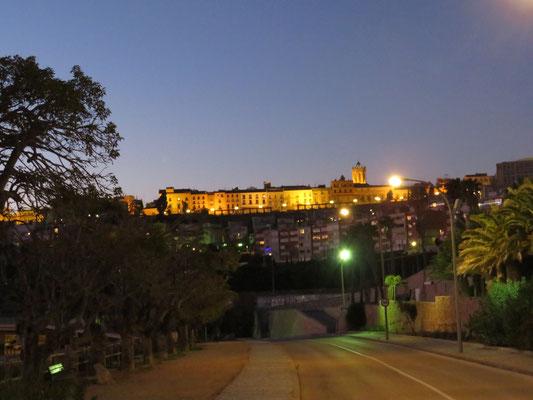 Tarragona bei Nacht