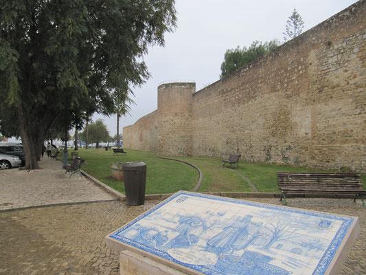 Stadtmauer Faro