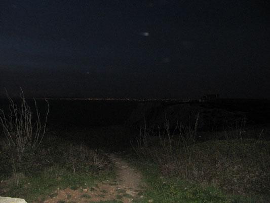 Lissabonblick bei Nacht
