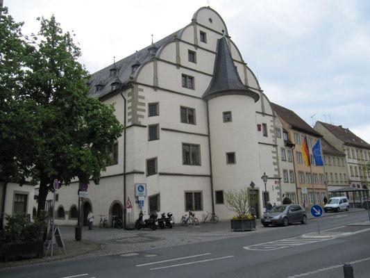 Rathaus - Rückfront