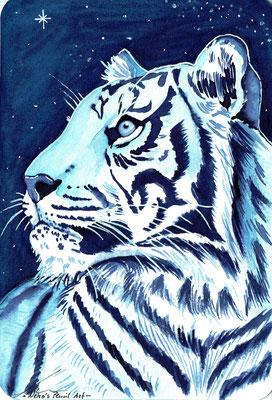 Sumatra Tiger - November 2019- A6 sold