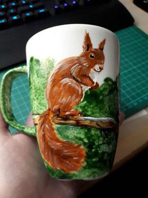Eichhörnchen - Januar 2020