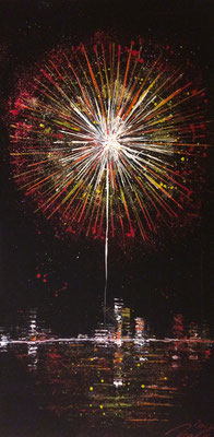 skyline fireworks Set A Teil 3 - 50 x 100 cm 2016
