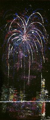 skyline fireworks Set B Teil 1 - 30 x 70 cm 2016