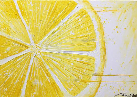Zitrone - 70 x 50 cm