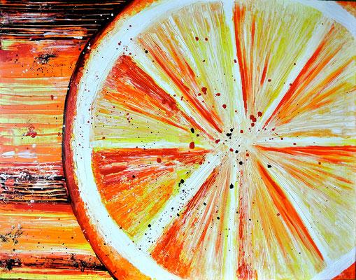 Orange - 80x60 cm