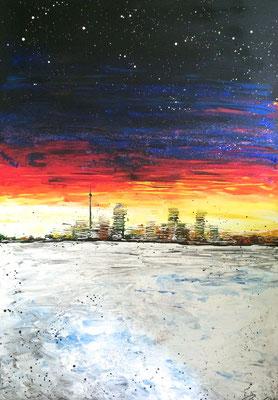 skyline iciness (Eiseskälte) Teil 3 - 70 x 100 cm