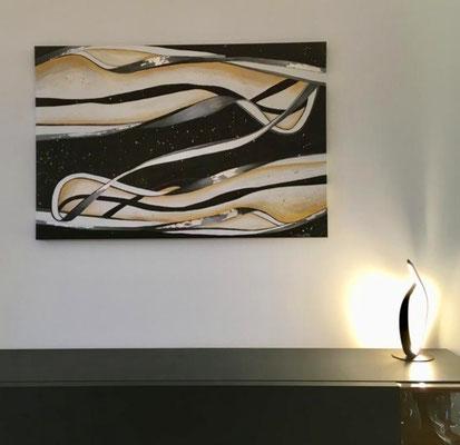Lichtschlange - 120 x 80 cm