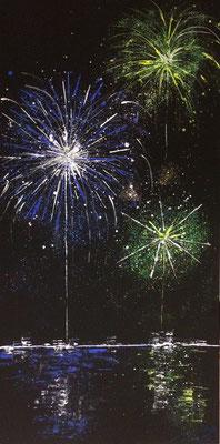 skyline fireworks Set A Teil 2 - 50 x 100 cm 2016 - nicht mehr zu haben