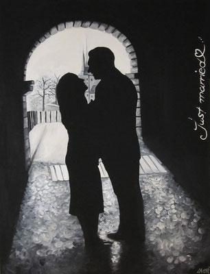 just married - Auftragsarbeit
