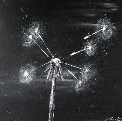Vergängliche Schönheit Teil 3 - 70x70 cm - Ausstellung
