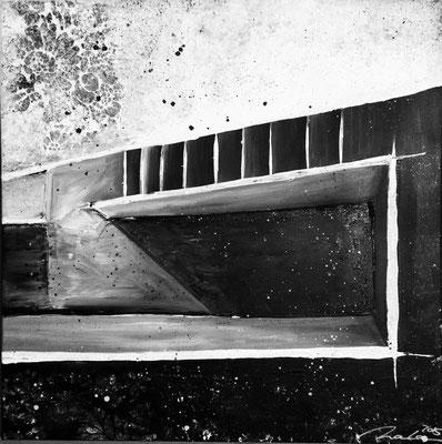 Weg nach unten Teil 4 - 60x60 cm