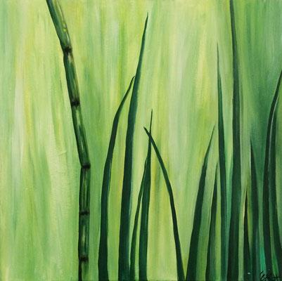 Gras - 70x70 cm - nicht mehr zu haben
