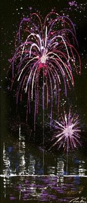 skyline fireworks Set B Teil 3 - 30 x 70 cm 2016