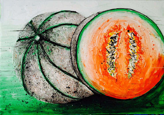 Melone 1 - 100 x 70 cm