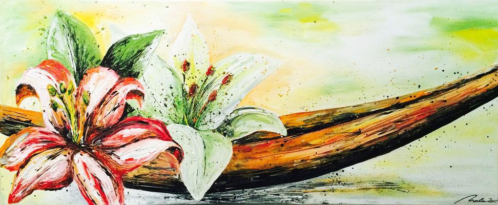 Lilien - 140x70 cm - verkauft
