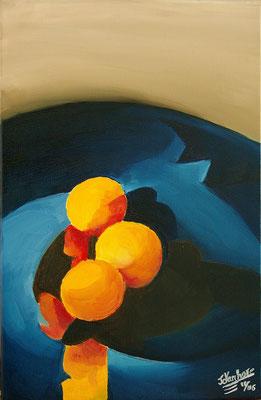 Huile sur toile, format: 40x30 cm