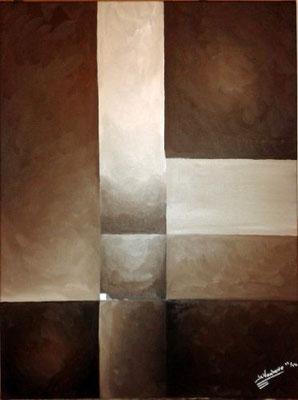 Huile sur toile. Format: 70x50cm