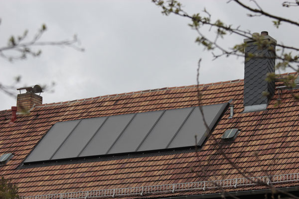 15 m² Solarkollektor