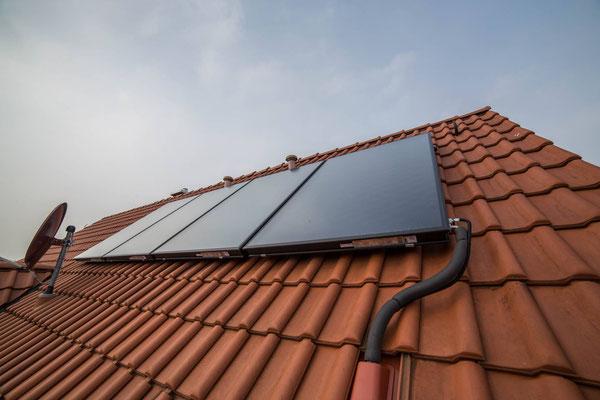 Solarkollektoranlage