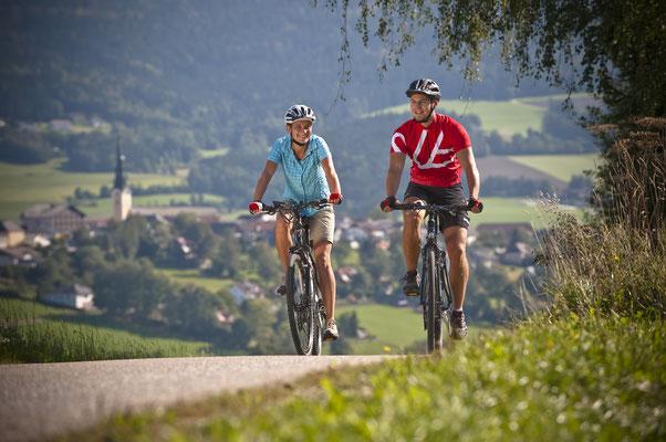 Radfahren (c) OÖ Tourismus   Erber
