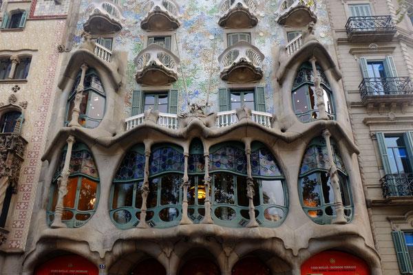 Casa Batlló (Barcelone) - Antoni Gaudí