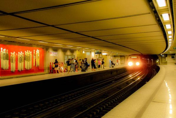 Athènes - métro