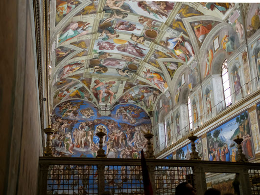 La chapelle Sixtine (Michel Ange)