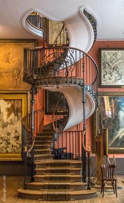 Escalier atelier Musée Gustave Moreau
