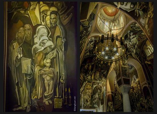 L'intérieur de l'Eglise dans la forteresse