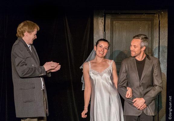 Mon Fric (de David Lescot) par le troupe de théâtre d'Oxygène PSA au théâtre Montmartre-Galabru