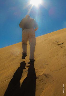 Sossusvlei - en route pour la dune