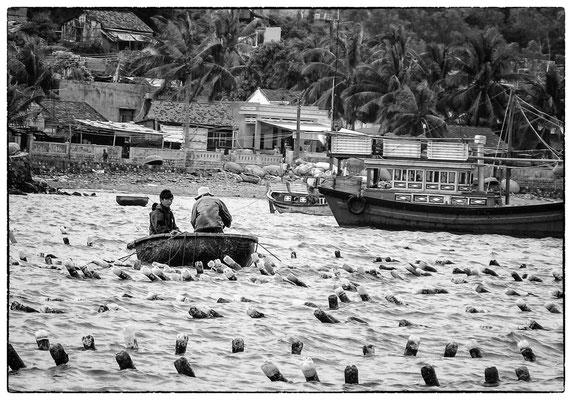 Pêcheurs à Nha Trang