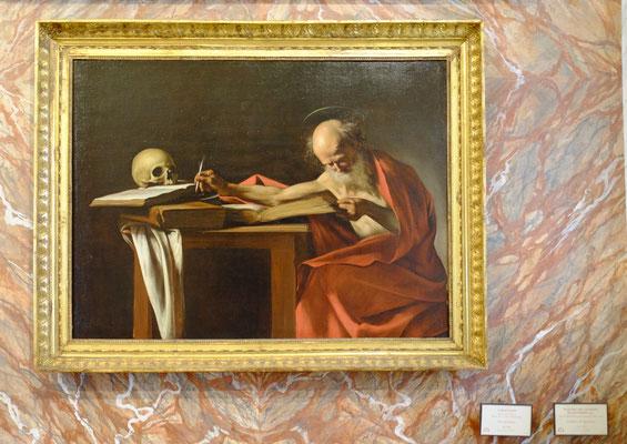 Musée Borghese - Caravaggio - St Jérôme
