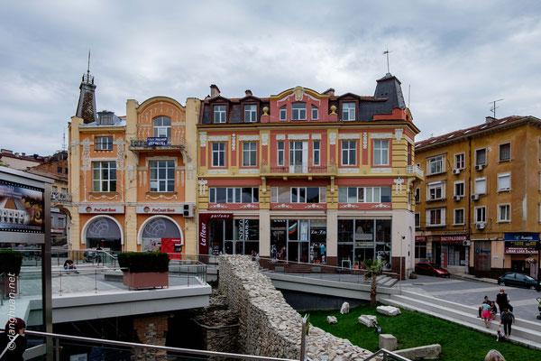 le centre de Plovdiv
