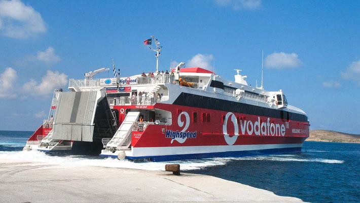 En route vers les autres iles des Cyclades