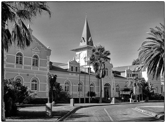 ancienne gare de Swakopmund devenue un hôtel