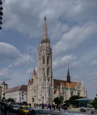 l'église paroissiale Mathias  de Buda