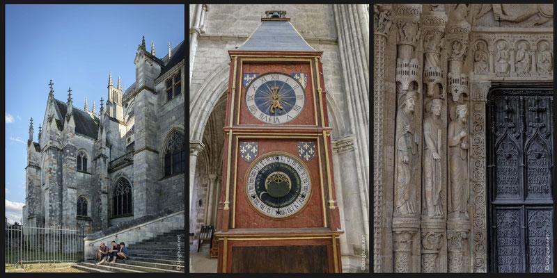 En 1424, la cathédrale reçoit son horloge astronomique, construite par André Cassart et conçue par Jean Fusoris