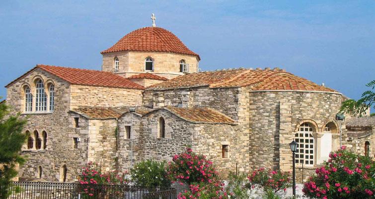 Les cyclades - Paros - Parikia - Eglise Bizantine Ekatontapyliani
