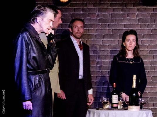 troupe de théâtre d'Oxygène PSA au théâtre Montmartre-Galabru